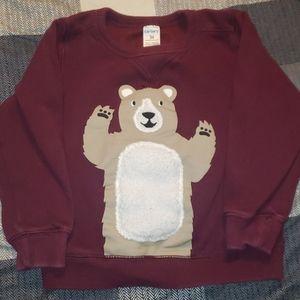 Carters size 3t bear sweatshirt